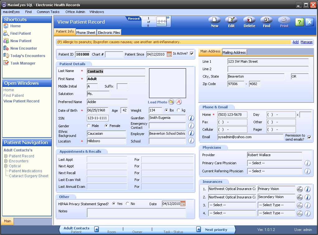 Maximeyes Software By First Insight Help